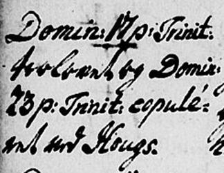 Hvordan omregne latinske datoer?