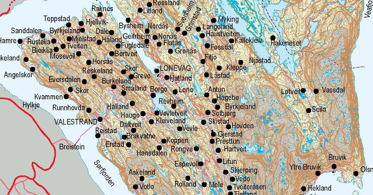 kart over osterøy Gårdskart fra Osterøy | Familien Brudvik kart over osterøy