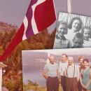 Fest og feiring på Bjørkelund rundt 40-60-tallet
